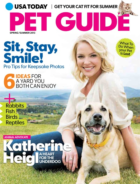 magazine articles or blog posts relating to using pets